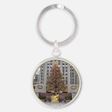 Rockefeller Center Christmas Keychains