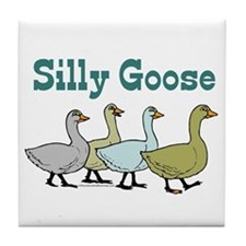 Silly Goose Tile Coaster