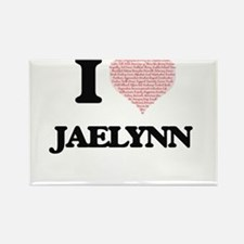 I love Jaelynn (heart made from words) des Magnets