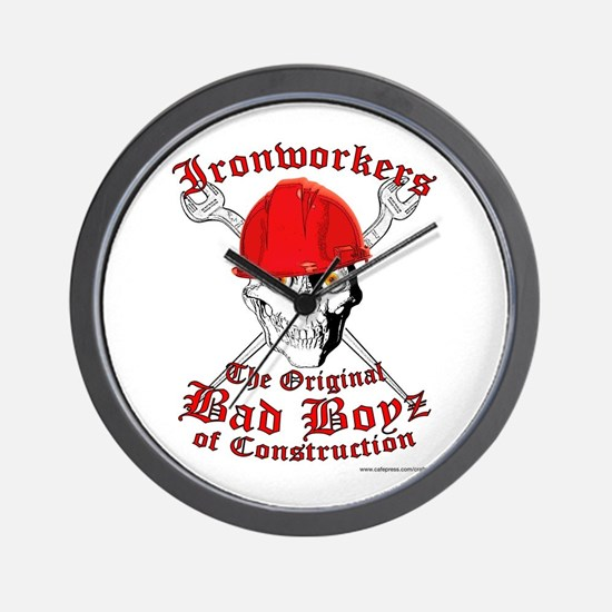 Ironworkers Wall Clock