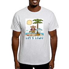 Lets Luau Boy Monkey T-Shirt