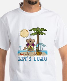Lets Luau Boy Monkey Shirt