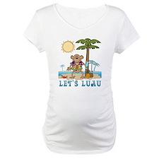Lets Luau Boy Monkey Shirt