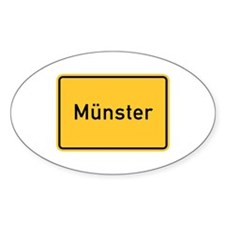 Münster Roadmarker, Germany Oval Decal