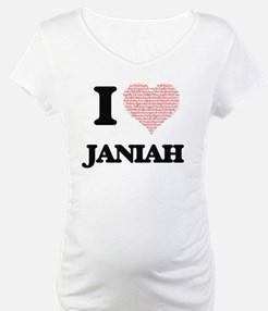 I love Janiah (heart made from w Shirt