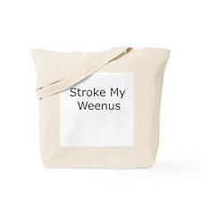 Stroke It Tote Bag