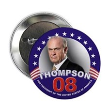 """Fred Thompson for President 2.25"""" Button (10 pack)"""