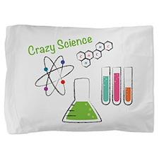 Crazy Science Pillow Sham