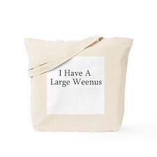Big Weenus Tote Bag