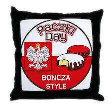 Boncza Throw Pillow