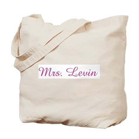 Mrs. Levin Tote Bag