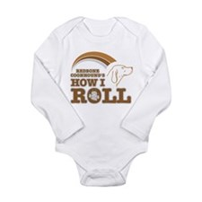 Funny Redbone coonhound Long Sleeve Infant Bodysuit