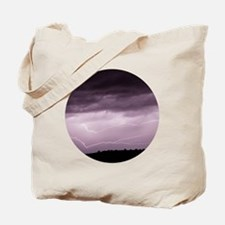 Cute Struck by lightning Tote Bag