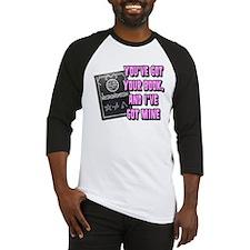 The Necronomicon Pink Baseball Jersey