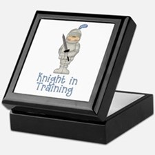 Knight in Training Keepsake Box
