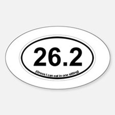 26.2 - Oreos I can eat in one sitting Decal