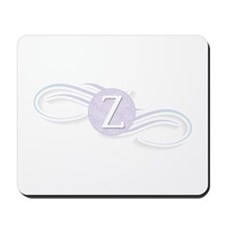 Monogram Z Swirl Mousepad