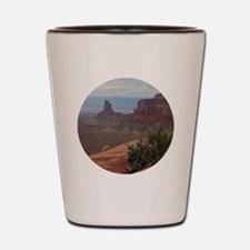 Canyonlands Shot Glass