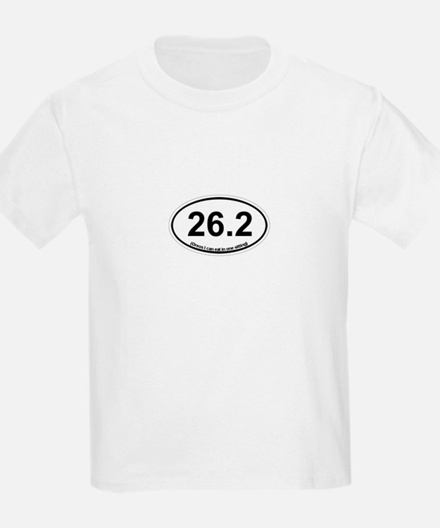 26.2 - Oreos I can eat in one sitting T-Shirt