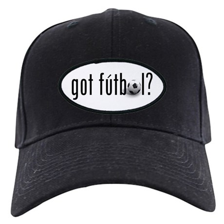 got futbol? Black Cap