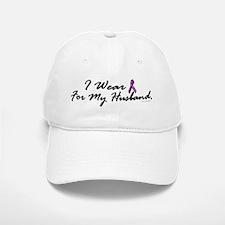 I Wear Purple 1 (Husband PC) Baseball Baseball Cap