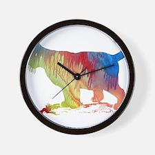 bobcat Wall Clock