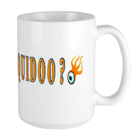 Do You Squidoo ? Large Mug