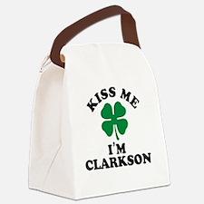 Cute Clarkson Canvas Lunch Bag