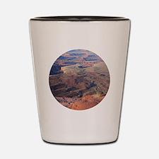 Funny Canyonlands Shot Glass