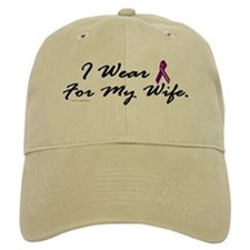 I Wear Purple 1 (Wife PC) Baseball Cap