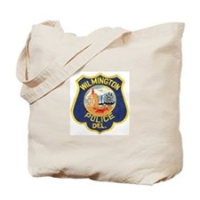 Wilmington Delaware Police Tote Bag