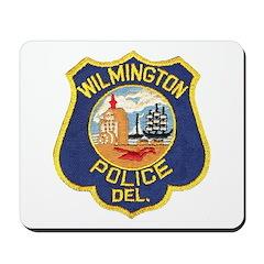 Wilmington Delaware Police Mousepad