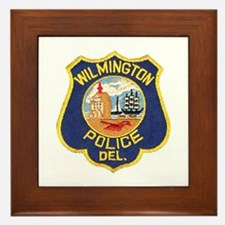 Wilmington Delaware Police Framed Tile