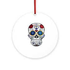 Skull Round Ornament