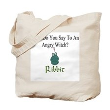 Angry Witch Tote Bag