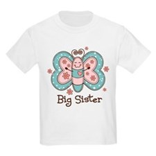 Butterfly Big Sis T-Shirt