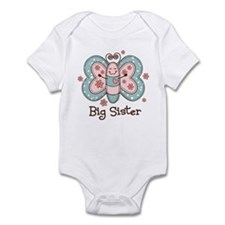 Butterfly Big Sis Infant Bodysuit