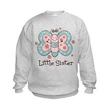 Butterfly Little Sis Sweatshirt