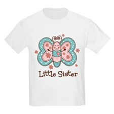 Butterfly Little Sis T-Shirt