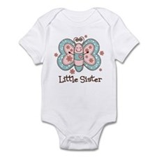 Butterfly Little Sis Infant Bodysuit