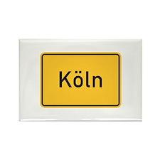 Cologne Roadmarker, Germany Rectangle Magnet