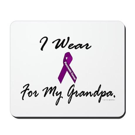 I Wear Purple 1 (Grandpa PC) Mousepad