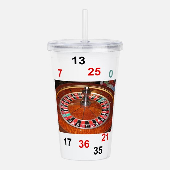Casino roulette gaming Acrylic Double-wall Tumbler