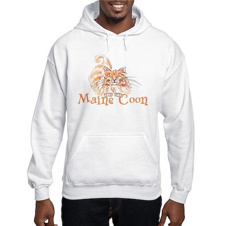 Maine Coon Hooded Sweatshirt