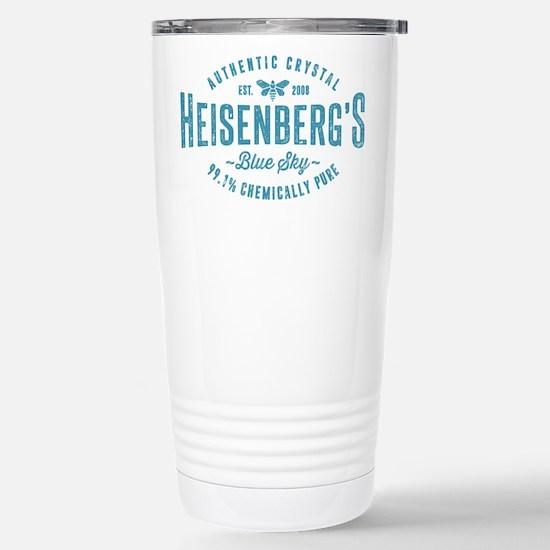 Heisenberg Blue Sky Breaking Bad Travel Mug
