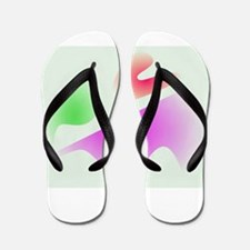 Misty Mountains Flip Flops