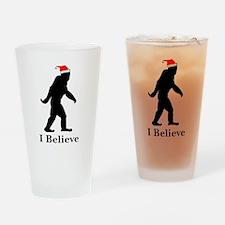 Believe Drinking Glass