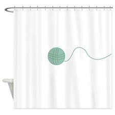ball of wool Shower Curtain