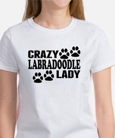 Crazy Labradoodle Lady T-Shirt