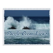 Pacific Ocean Views Wall Calendar